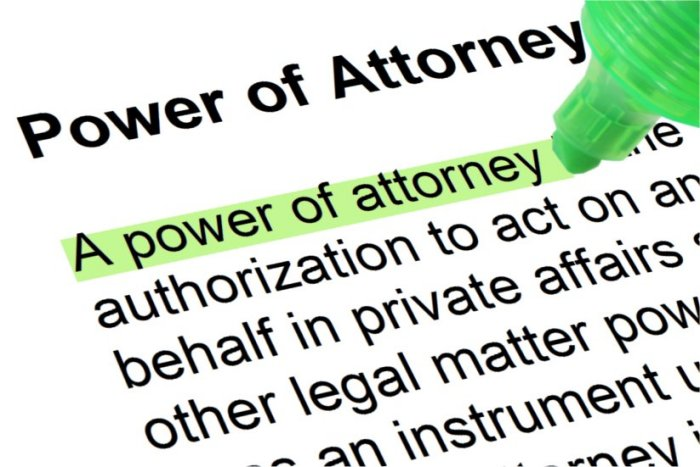 Power of Attorney in a complete estate plan