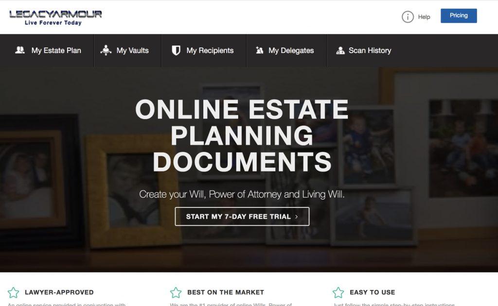 White label estate planning service